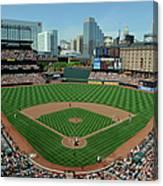Houston Astros V Baltimore Orioles Canvas Print