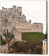 Hrad Beckov - Castle Canvas Print
