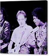 Humble Pie - On To Victory Tour At The Cow Palace S F 5-16-80 Canvas Print