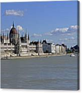 Hungarian Parliament Building  Canvas Print