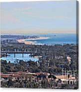 Huntington Beach View Canvas Print