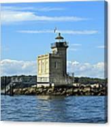 Huntington Lighthouse Canvas Print