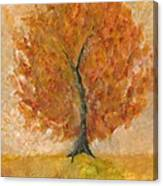 I Bloom Canvas Print