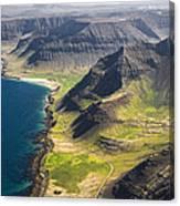 Iceland Plateau Mountains Canvas Print