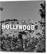 Iconic Hollywood Sign Canvas Print