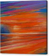 Impression Sunset 02 Canvas Print