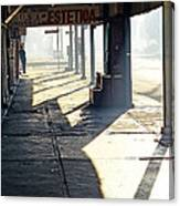 In The Shadows Of Mexicali Canvas Print