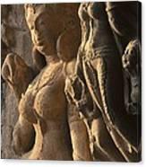 India. Ellora. Ellora Caves. Ellora Canvas Print