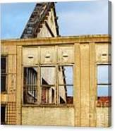 Industrial Building Canvas Print