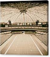 Interior Of The Old Astrodome Canvas Print