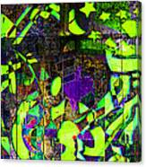 Interstate 10- Exit 259- 22nd St/ Star Pass Blvd Underpass- Rectangle Remix Canvas Print