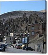Iran Kandovan Stone Village Canvas Print