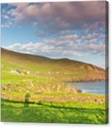Ireland, County Kerry Slea Head Drive Canvas Print