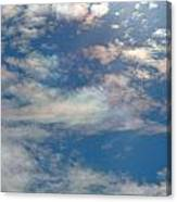 Iridescent Clouds Canvas Print