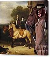 Irish Water Spaniel Art Canvas Print Canvas Print
