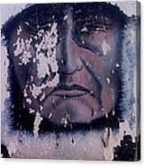 Iron Eyes Cody Homage The Big Trail 1930 The Crying Indian Black Canyon Arizona 2004 Canvas Print