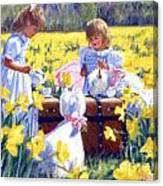 Is That Tea Canvas Print