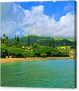 Island Of Maui Canvas Print