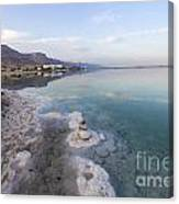 Israel Dead Sea Canvas Print