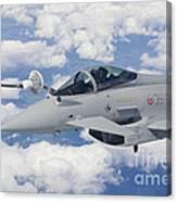 Italian Air Force Eurofighter Typhoon Canvas Print