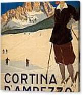 Italian Travel Poster Canvas Print