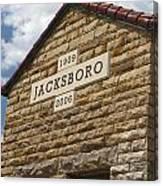 Jacksboro Texas Canvas Print