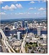 Jacksonville Florida Canvas Print
