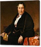 Jacques-louis Leblanc Canvas Print