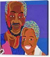 James And Monique Canvas Print