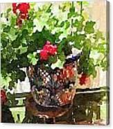 Jardines Canvas Print