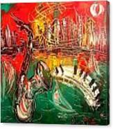 Jazz Fest Canvas Print