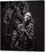 Jazz Passion Canvas Print