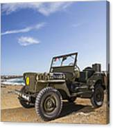 Jeep Willys Canvas Print