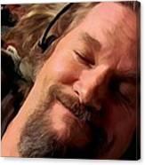 Jeff Bridges As The Dude Canvas Print