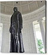 Jefferson Memorial # 6 Canvas Print
