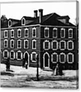 Jefferson's House, 1776 Canvas Print
