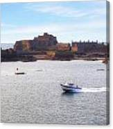 Jersey - Elizabeth Castle Canvas Print