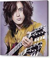 Jimmy Page 1 Canvas Print