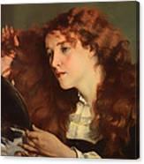 Jo The Beautiful Irish Girl Canvas Print