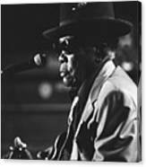 John Lee Hooker Canvas Print