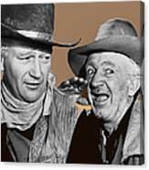 John Wayne Walter Brennan Publicity Photo Red River 1948-2013 Canvas Print