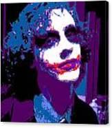 Joker 11 Canvas Print