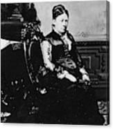 Julia Dent Grant (1826-1902) Canvas Print