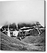 Kailash Mountain North Slope Canvas Print