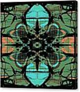 Kaleidoscope Flower 4 Canvas Print