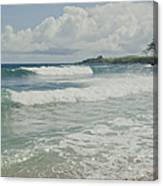 Kapalua Surf Honokahua Maui Hawaii Canvas Print