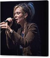 Karin Bergquist Lead Singer Of Over The Rhine Canvas Print