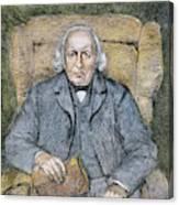 Karl Theodor Weierstrass (1815-1897) Canvas Print