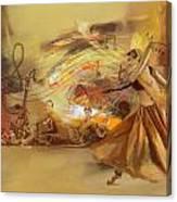 Kathak Dancer 4 Canvas Print