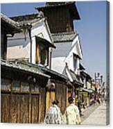 Kawagoe Bell Tower Canvas Print